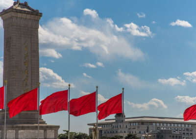 Peking Beijing Platz des Himmlischen Friedens Tian'anmen