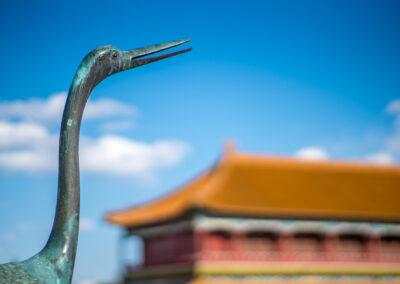 China Bejing Peking Verbotene Stadt Details