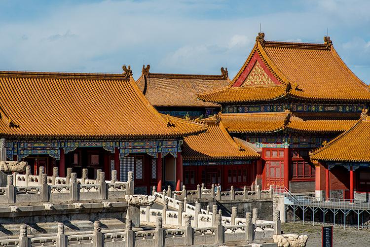 China Peking Beijing Verbotene Stadt Forbidden City