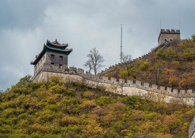 China Beijing Peking Chinesische Mauer Great wall