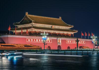 Peking Beijing China Eingang verbotene Stadt Forbidden City