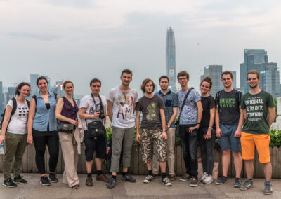 Studenten in China Shenzhen Reise Seeds for the Future Huawei