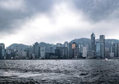 Skyline Hong Kong China Hong Kong South