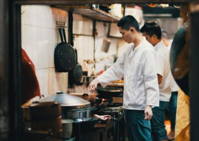Chinesische Küche Essen in China