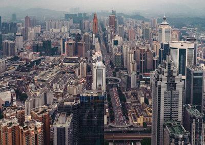 Skyline China Hochhäuser Shenzhen Skyscrapers