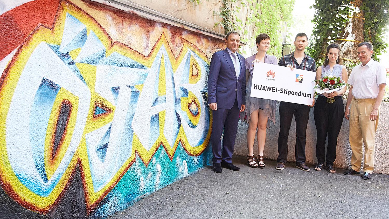 Huawei-oejab-stipendium-verleihung